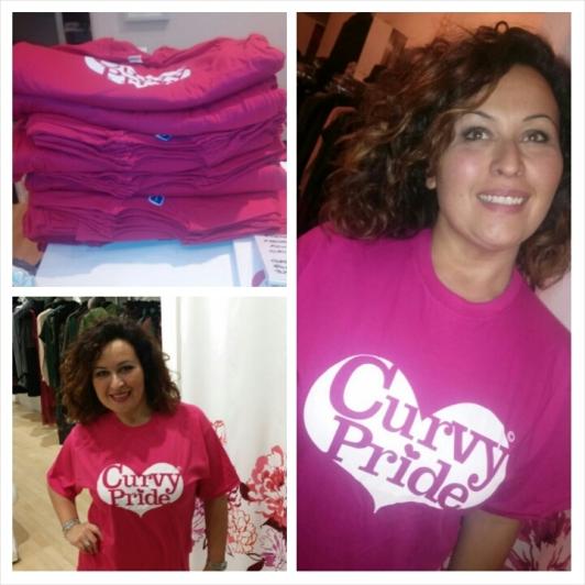 curvy pride t-shirt