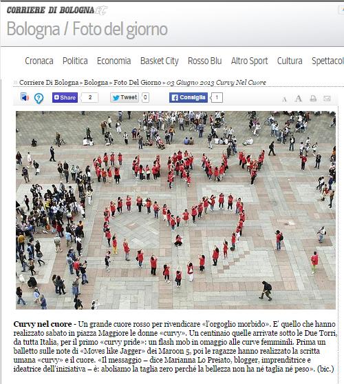 Curvy Pride 2013 - Corriere di Bologna