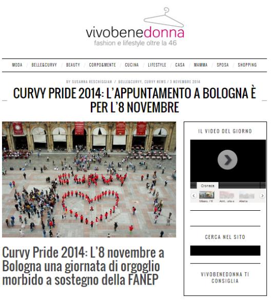 curvy pride 2014 bologna
