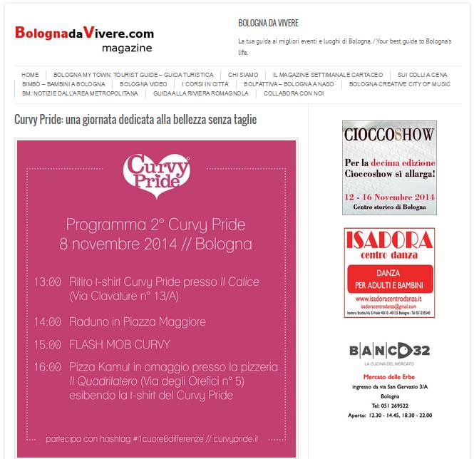 Bologna vivere curvy pride