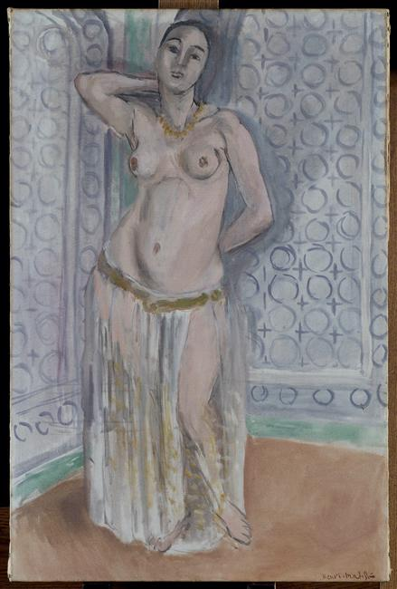 Henri-Matisse-Odalisque-in-blue-or-white-slave