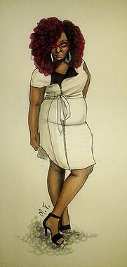Marie Denee - curvy fashion blogger