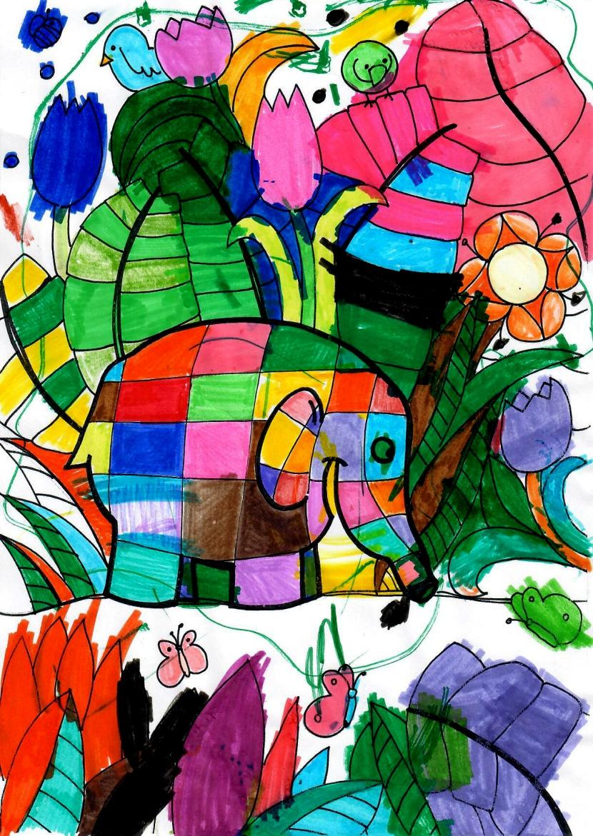 elefanteCOLORATO